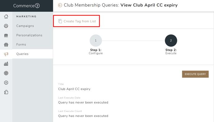 club member tag