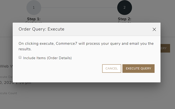 order query