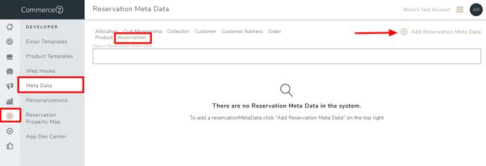 res meta data